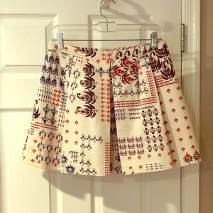 Club Monaco Patterned Skirt